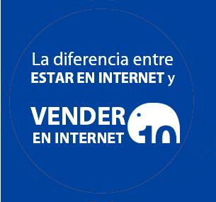 La diferencia entre estar en internet y vender en internet...